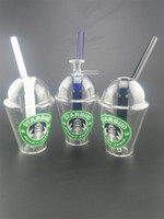 Starbucks Cup Glass bong Mini Wasserrohre dap rig und Bohrinseln 4.5inches Glas Bongs Shisha Rauch Zubehör