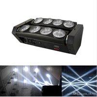 RGBW 4in1 led örümcek ışın ışık led 8x10w çubuğu ışın hareketli kafa ışın örümcek ışık RGBW led