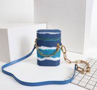 Tasarımcı Lüks Çantalar Cüzdanlar Telefon Kutusu Kalem Tutucu Kutusu Çanta Bayan Marka Klasik Stil Gerçek Deri Omuz Çantaları
