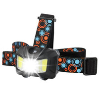 Portable Waterproof LED Headlight COB Work Light 4 Light Mode With Headlight Suit For Fishing, Camping, Etc. Dropshipping