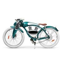 Retro Tarzı 400 W Motor Yağ Güçlü Bisiklet Elektrikli Scooter Scooter Yetişkinler Motosiklet Bisiklet Lastik Motosiklet 26 * 4.0 Ebike