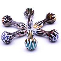 """Colourfule воды Трубы стеклянные для курения ручной работы трубы Цвета могут варьироваться 3.5"""" от Radiant стекольного завода"""