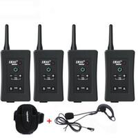 Talkie Mais Novo Futebol Árbitro Intercom Headset FBIM 1200M Full Duplex Bluetooth Interphone Wireless Walkie Headsets Caixa de varejo