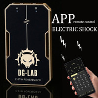 Adulte Jeux APP Contrôle à distance Electro Shock Themed BDSM SM Slave Pénalité électronique Stimulateur Sex Toys Pour Homme Femme T200721