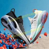2020 Joyride Run FK Mens Womens Running Shoes Triple Black White Platinum Racer Blue Designers Sports Sneakers Utility Size US 11