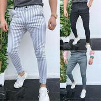 Новые Мужчины повседневные брюки Slim Fit Тощий Бизнес официальный костюм платье брюки брюки брюки