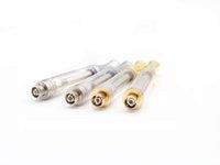 Customizable AC1003 ceramic coil Cartridge 510 Disposable Gold Vaporizer Thick Oil vape atomizer PK th210 M6T 92a3 G2 CE3
