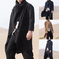 Этническая одежда Саудовская Аравия традиционная мусульманская мода Jubba Thobe для мужчин арабские длинные халаты тонкий плащ кардиган исламский