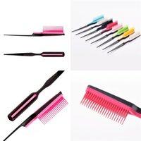 Kabarık Modellemeler Saç Combs Güzel Renkli Katlama Masaj Tarak İyi Rahat Makyaj Aracı Fabrika Doğrudan 3 5cy E2