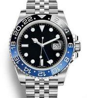 بيع الساخن 2813 الميكانيكية الحركة التلقائية Rolex 116710 GMT الأسود السيراميك الياقوت الطلب ماستر 2 اليوبيل سوار ووتش للرجال ساعات