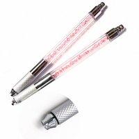 Professionelle 3D Augenbrauen Handbuch Tattoo Microblading Pen Maschinen für Augenbraue Stickerei Permanent Make-up Betrieb Permanent Make-up auf G3Pn #