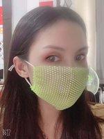 Alta qualidade máscara Adulto Europeu e romance rede de pesca estrela vermelha líquida americano broca água com estoque máscara personalidade máscara de moda