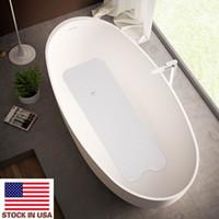99 * 39cm tapetes designer banheiro tapete de estofamento limpadores convenientes banheira antiderrapante esteira