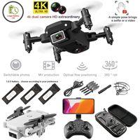Drone Camera Drone S66 Мини складной пульт дистанционного управления 4K / 720P камера HD широкоугольный угол камеры WiFi FPV Drone Heather House House Quadcopter