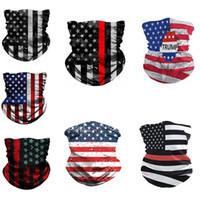 Bandera americana bufandas de la impresión 3D Digital Magic bufandas multifuncional magia Headwear turbante Moda Montar collar máscara protectora IIA359