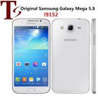 Remodelado Original Samsung Galaxy Mega 5.8 I9152 Telefones Dual Sim Dualcore 1.5GB RAM 8GB ROM 8MP 3G desbloqueado telefone Android