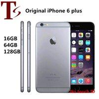 Recuperado Original Apple iPhone 6 Plus Sem Fingerprint 5,5 polegadas A8 16/64 / 128GB ROM IOS Desbloqueado LTE 4G Telefone