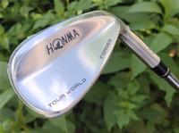 Honma Tour World TW-W Wedge Honma TW-W Golf Wedge Golfschläger 48/50/52/54/56/58 Grad-Stahlwelle mit Kopfdeckel