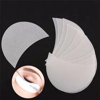 50 pcs / caixa Eyeshadow Shields Pads sob o olhar Patches descartável Maquiagem Sombra Protector Adesivos JK2007XB