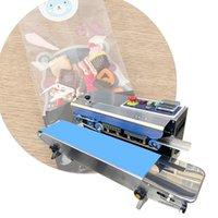 IRISLEE HOT automática máquina de sellado de película continua, la máquina de paquete de bolsa de plástico, Ampliado banda alimentos sellador 220V