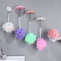 Regenschirmform Haken Nagel-freies No Trace Wandhaken, kleine und feine Pylons Küche Organizer Zubehör für das Badezimmer 0 86zm E2 Haften