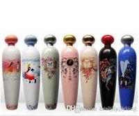 Frasco de perfume em forma de guarda-chuva dobrável Mini portátil Sun Chuva Projeto Parasol Branco Hard Case Azul Mediterrâneo férias 014