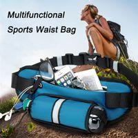 Outdoor-Taschen Laufen Taille Frauen Männer Multifunktions-WASIT-Tasche mit Flaschenhalter für Fitnesswanderung Radfahren