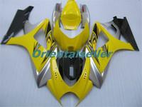 Körper für SUZUKI GSXR1000 GSXR1000 heißen GSXR1000 07 08 Karosserie GSX R1000 07 08 K7 GSXR 1000 2007 2008 gelb schwarz AC37 Voll Verkleidungs-Kit
