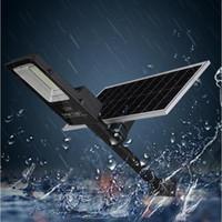 100W 150W 200W 300W Солнечный уличный свет Прожектор Прожектор Открытый Водонепроницаемый солнечный свет потока лампы Spot дистанционного управления