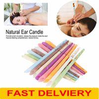 Schnelle Lieferung Chinesische Therapie Ohr Kerze Natürliche Aromatherapie Bienenwachs Auricular Therapy Ohr Kerze Ohr Behandlungsohren Wachs gesunde Pflegewerkzeuge