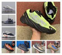 Новые 700 MNVN Green Inertia кроссовки дешевые Vanta 700 V3 Alvah Azael Kanye West Wave Wave Runner V2 туман инопланетянин мужские женские бегунные кроссовки