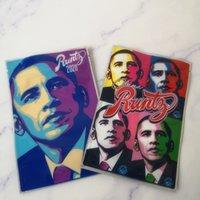 Runtz Obama Cookis Joker Up Mylar Çanta 3.5g Fermuar Kılıfı Paketleme Kuru Herb Tütün Kitapları Gummies Depolama Perakende Paketi