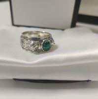 뜨거운 판매 고품질 보석 반지 최고 품질의 실버 925 링 인기있는 남자와 여자 반지 패션 쥬얼리 공급