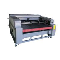 1800 * 1000 millimetri 1810 80W 100w 130w 150w tre laser taglio laser testa con CCD grandi dimensioni macchina per incidere di taglio laser