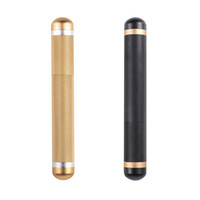 Neueste Aluminium Bunte Luxusfarben Tragbare Lagerung Stash Case Box Zigarre Zigarette Vorrunzeln Rauchen Jar Container Halter Zubehör DHL