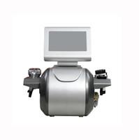 Profissional 5 em 1 cavitação de ultrassonografia RF radiofrequência bipolar tripolar 8 polar cavitação de RF para rosto e corpo