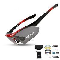 근시 프레임 (5) 렌즈 초경량 30 G와 자전거 안경 자전거 MTB 자전거 야외 스포츠 선글라스 UV400 방수 편광