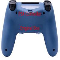 Con la scatola originale PS4 Wireless Controller Gamepad della barra di comando senza alcun ritardo Colorful gamepad di Bluetooth per Playstation 4