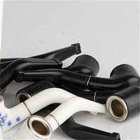 Múltiples tubos de filtración con filtro de fumadores Boquilla mano Plastics Pipe super mini titular de cigarrillos Accesorios de humo portátil 0 4XT B2