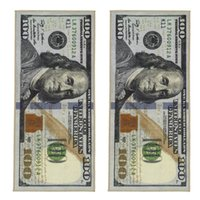 منطقة غير قسيمة غير قابلة للانزلاق الحديثة ديكور المنزل السجاد الدليمي المطبوعة السجاد مائة دولار 100 بيل طباعة