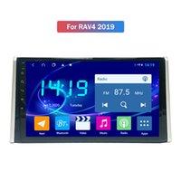 10-Zoll-Android-IPS-Autoschnittstellen-Video-Multimedia für Toyota RAV4-2019 GPS-Navigationskopfeinheit