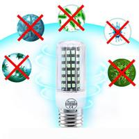 UVC Sterilisator Glühlampe LED E27 Entkeimungslampe LED 110V 220V Ozon-Lampe E14 UV Lampada LED 72 112leds Desinfizieren Bakterielle