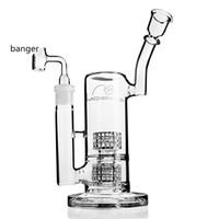 Mobius verre Bongs Fab Egg eau en verre épais tuyau Heady Dab Rigs grand verre de Beaker Shisha narguilés avec bol joint 18mm « »