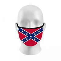 Maske Mississippi Flag Outdoor-Sommer-Antistaub-Breathable Sport-Gesichtsmaske Trump Wahl Flag 3D Printed Mundschutz-Masken LJJO8212