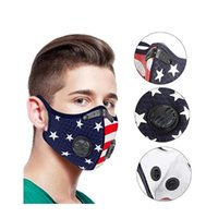 Cycling Mask Double Breathing Valve Mask Outdoor Windproof Cycling Masks without Replaceable Activated Carbon Filter CCA12391 200pcs