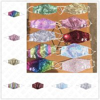 Colorful Sequin Print Face Masks Fashion Brand Washable Face...