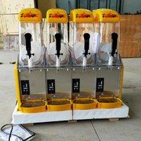 Высокоэффективное полного автоматических четырехцилиндровые снег грязевых машины Smoothie смешивание производитель соки машина плавления коммерческого снег