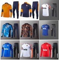 2020 2021 Valence fc survêtement hommes costume d'entraînement PAREJO Football Shirt GAMEIRO hommes chandal 2020/21 Valence Entrenamiento survêtement adulte