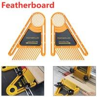 Multi-purpose piuma Loc insieme del bordo di legno macchina per incidere doppio Featherboards Mitre Gauge Slot lavorazione del legno strumento fai da te
