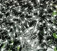 Ampoule de style en verre Globe Wax Atomiseur Simple Double Céramique Coton Quartz Bobines sec Herb Vaporizer Pen Dôme Atomiseur pour Ego T Evod Batterie